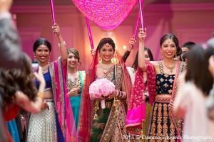 indian-wedding-ceremony-bride-bridal-party
